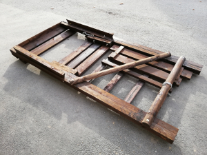 Klapp Leiter 2.4m, 5er Set