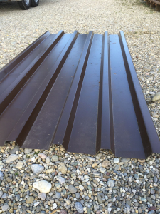 Dachplatten Trapezblech 1 x 2m