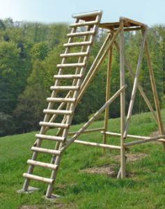 Kanzelbock 3 m mit Leiter